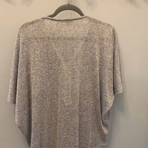 Lightweight gray sweater